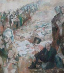 oleo-juan-ramon-avalos-refugiados