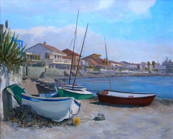 Acrílico. Imagen de Cabo de Palos. Juan Ramón Ávalos