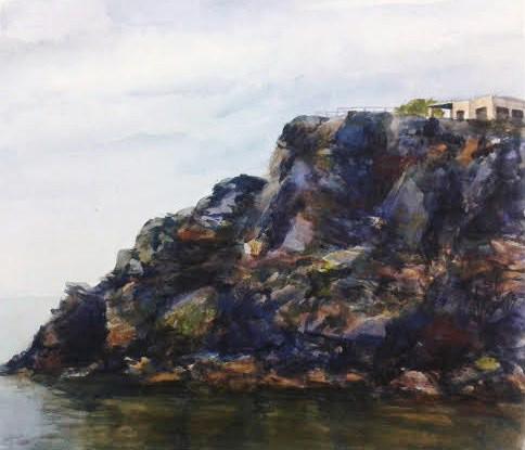 Cabo de Palos. Serie de Acuarela de Juan Ramón Ávalos