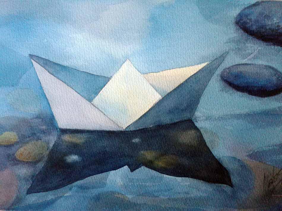 acuarela-juan-ramon-avalos-barco-de-papel
