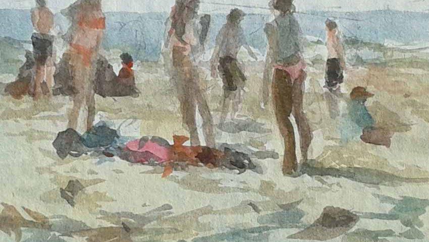 acuarela-juan-ramon-avalos-dia-de-playa