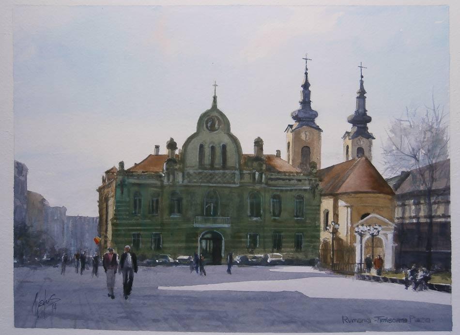 acuarela-juan-ramon-avalostimisoara-rumania