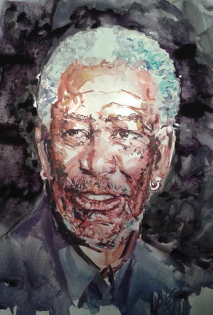 retrato-de-morgan-freeman