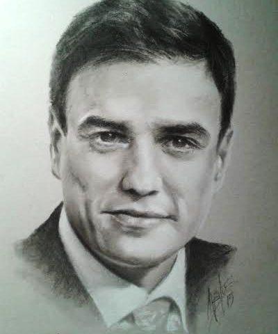 retrato-de-pedro-sanchez
