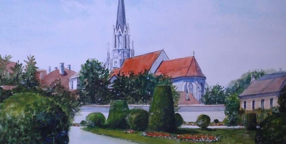 acuarela-juan-ramon-avaloa-votivkirche-viena