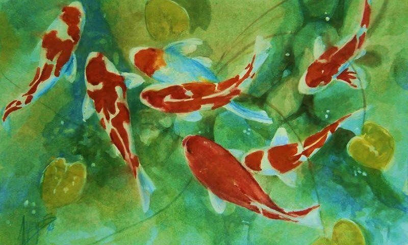 acuarela-juan-ramon-avalos-mis-peces-de-colores-2