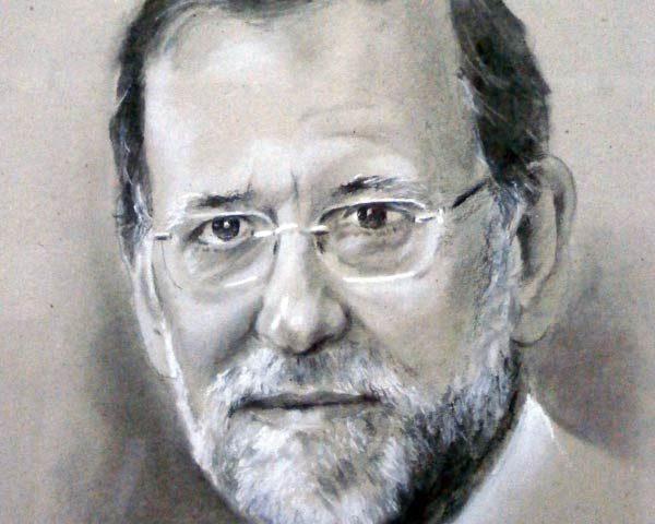 dibujo-juan-ramon-avalos-retrato-de-mariano-rajoy