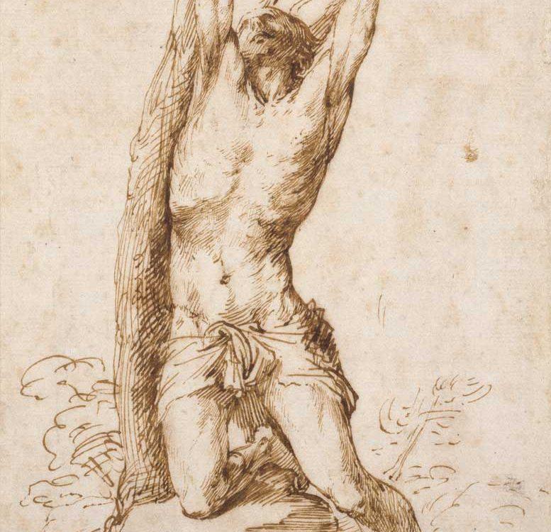 Dibujo de Ribera - Exposición de Ribera en el museo del Prado