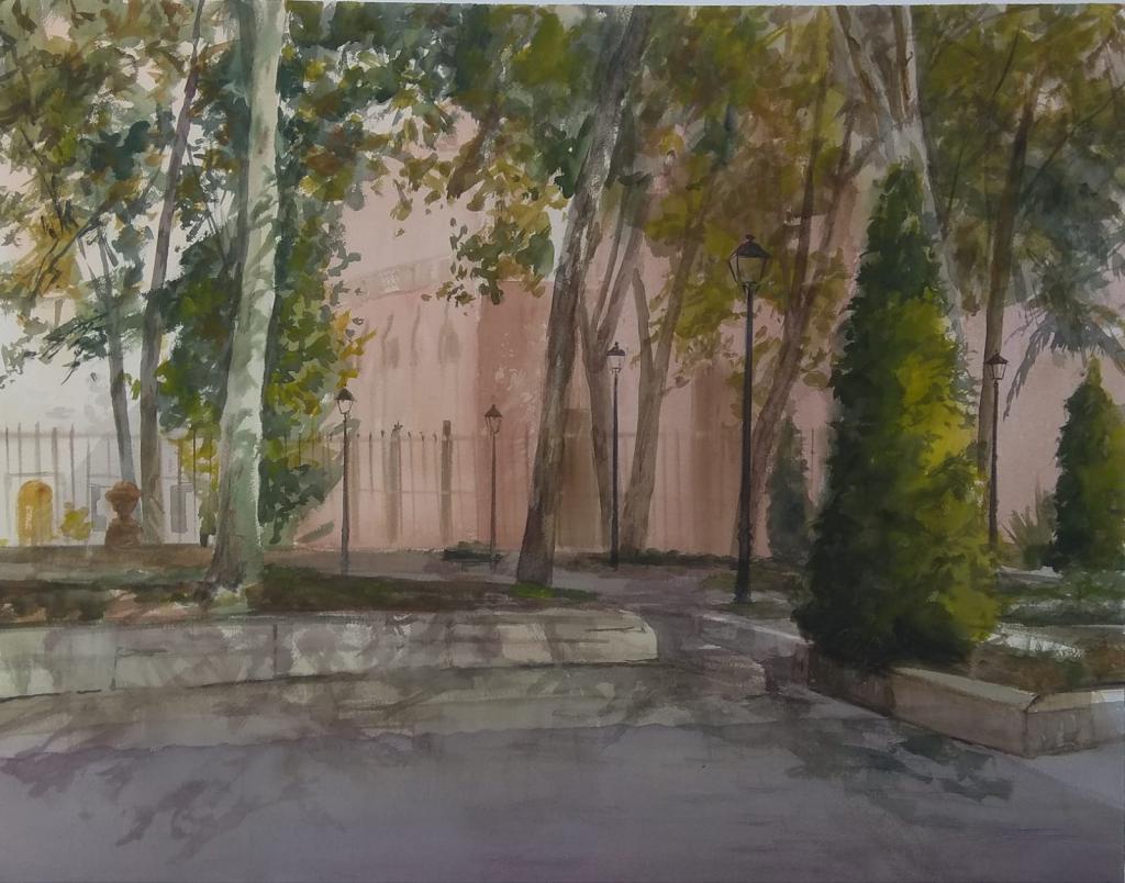 Concurso de pintura rápida Alcala de Henares